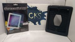 ( Sold Out ! ) Apple iPad 2 Rubber Tablet Case + 2 Screen Protectors ( Refurbished )
