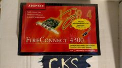 ( NEW! ) Adaptec Fire Connect 4300 3 Port Firewire/1394/ L.LINK S1