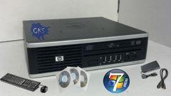 ( Sold Out! ) HP ELITE 8000 ULTRA SLIM Duo Core 3.16GHz 4GB / 640GB / DVDRW Win7 Wireless WIFI (CKS BUILD) (Refurbished)
