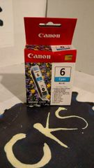( Sold Out ! ) CANON 6 CYAN BCI-6C FOR PIXMA iP3000 / iP4000 iP4000R (New In Box) Genuine Canon