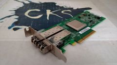 S27 SUN / ORACLE 371-4325-02, QLOGIC QLE2562-SUN PCI-E 8GB DUAL FIBER HBA ADAPTER CARD WITH 2*X SFP 2 FTLF8528P2BCV-QL