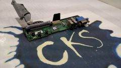 DELL CN-0NN596-69702-8CF-7682 POWEREDGE 2950 POWER BUTTON SWITCH BOARD FRONT I/O ( Refurbished )