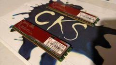 G-SKILL 1GB PC2-5400 MEMORY MODULE F2-5400PHU2-1GBLA DDRII512 CL4-4-12 1.8V (Refurbished)