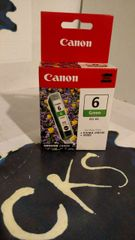 ( Sold Out ! ) CANON 6 GREEN BCI-6G FOR PIXMA Ip8500 i9900 (New In Box) Genuine Canon