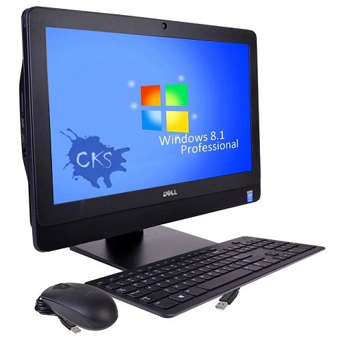 """( Sold out!) Dell OptiPlex 3030 19.5"""" Core i5-4590S Quad-Core 3.0GHz All-in-One PC - 8GB 256GB SSD DVD/W8.1P/Webcam/WiFi-N (Refurbished)"""