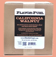 FlavorFuel® Walnut Nutshells - Bulk