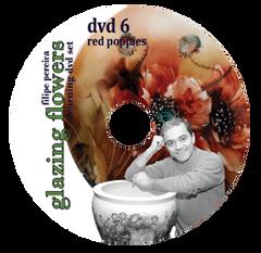 sku#7105 Red Poppies #6 - DVD - Flower