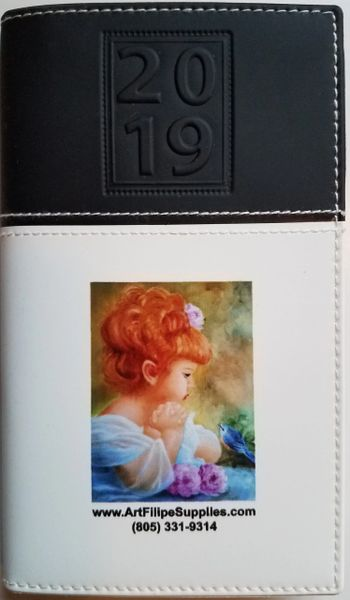 sku# 9904 Pocket Calendar 2019 with note pad - FREE with purchase while supplies last