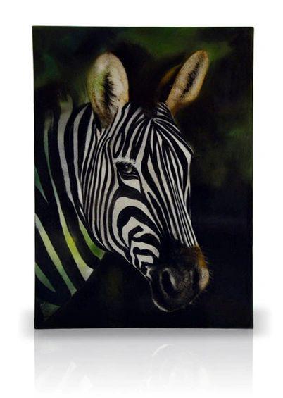 sku#6000 Zebra study #1