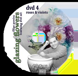 sku#7103 Roses & Violets #4 - DVD - Flower