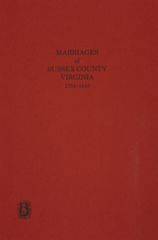 Sussex County, Virginia 1754-1810, Marriages of.