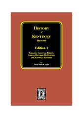 History of Kentucky: 1st Edition.