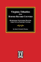 Burned Record Counties, Virginia Tithables from.