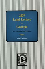 1827 Land Lottery of Georgia.