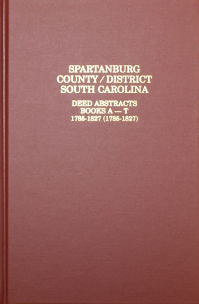 Spartanburg County District South Carolina Deed
