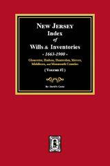 New Jersey Index of Wills and Inventories, 1663-1900. (Volume #2)