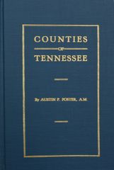 (MAPS 1790-1920) The Formation of Tennessee Counties.
