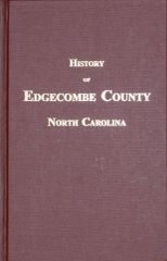 Edgecombe County, North Carolina, History of.