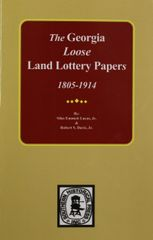 The Loose Land Lottery Papers of Georgia, 1805-1914.