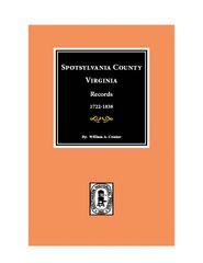 Spotsylvania County, Virginia Records.