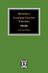 Culpeper County, Virginia, Records of.