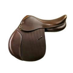 Camelot™ Child's Close Contact Saddle- Dark Brown