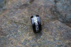 Black Birchwood Abalone Inlay