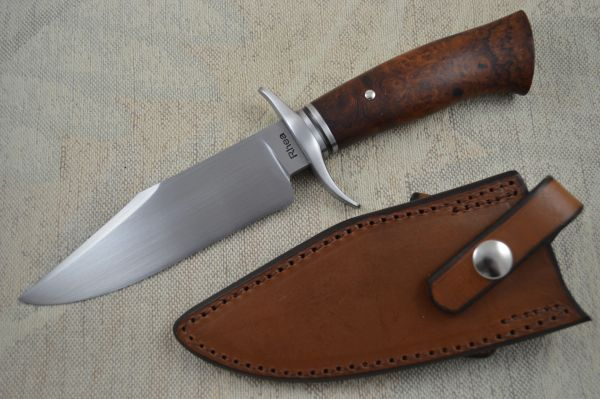 Lin Rhea, M.S. Compact Bowie, Desert Ironwood, Kenny Rowe Sheath (SOLD)