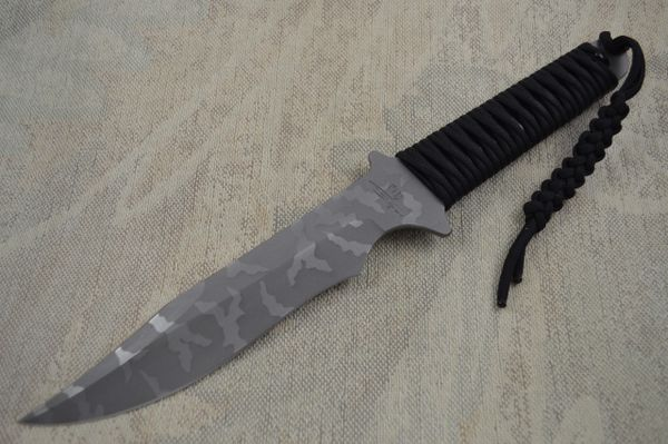 Kevin Hoffman KLH Paracord Wrapped Handle Survival Knife (SOLD)