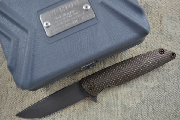 "Brian Nadeau Typhoon Flipper ""Best Tactical Folder"" Blade Show 2014 (SOLD)"