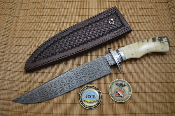 Bill Burke, MS, Bowie, 2015 ICCE Moran Memorial Damascus Award (SOLD)
