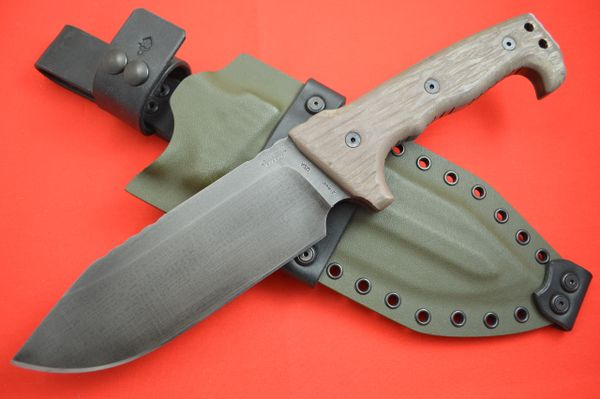 Miller Bros. Blades Full Size M-8, Z-Wear, Kydex and Leather Sheath (SOLD)