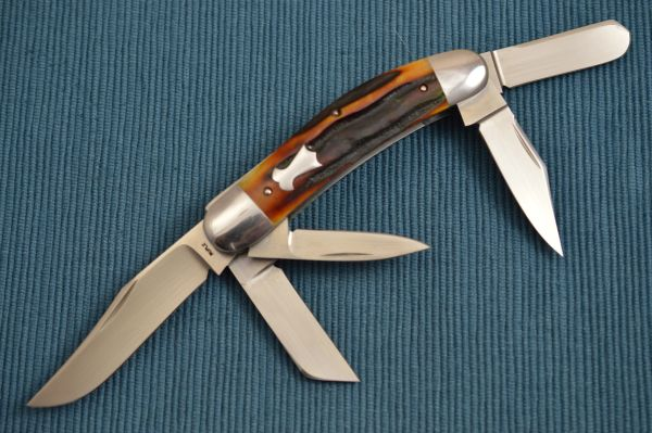 Bill Ruple Stag 5-Blade Sowbelly