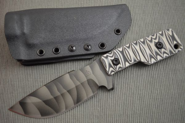 Crusader Forge TCFM XL Tactical Fixed Blade, CPM S30V, 3D Finish (SOLD)