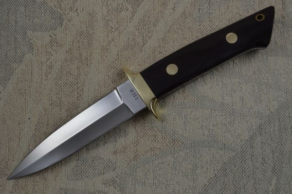 "Jimmy Lile ""No Dot"" Double Edged Boot Knife (SOLD)"