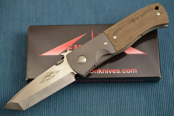 Ernie Emerson Custom Bolstered CQC-7 with Wave, Diamond Logo (SOLD)