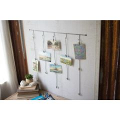 Hanging Metal Card Holder
