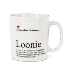 Cdn Dictionary Mug - Loonie