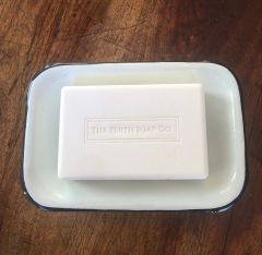 2 Piece Enamel Soap Dish