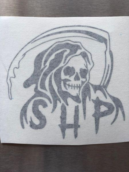 Reaper Vinyl Sticker