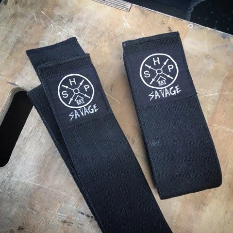 Savage Knee Wraps- Level 4