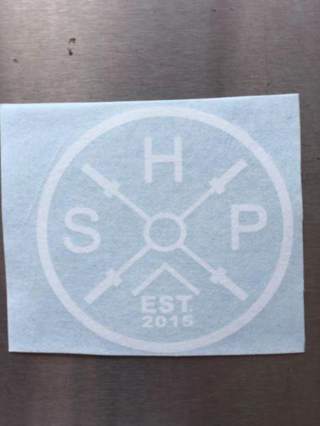 Circle Logo Vinyl Sticker