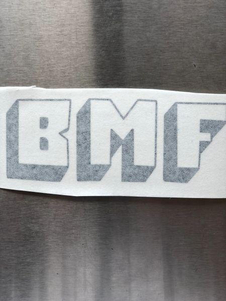 Black BMF Sticker