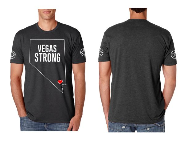 Vegas Strong T-shirts (100% of profit donated)