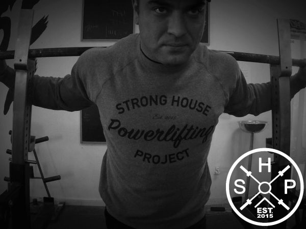 SHP Powerlifting Crew Neck Sweater