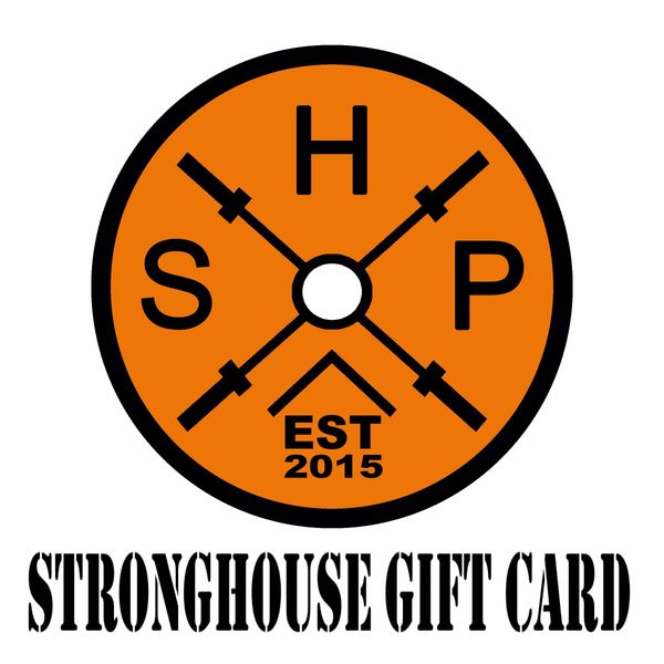 StrongHouse Gift Card ($10-100)