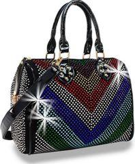 Diamond Chevron Handbag