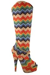 Candy Peep Toe Boot