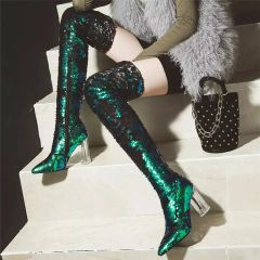 Mermaid Sequin Boots