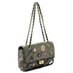 Quilted Luxe Handbag